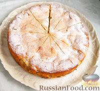 Фото приготовления рецепта: Нежный яблочный пирог-торт - шаг №11