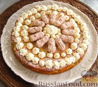 Фото приготовления рецепта: Нежный яблочный пирог-торт - шаг №12