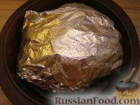 Фото приготовления рецепта: Курица в фольге - шаг №4