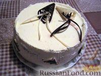 Фото к рецепту: Вкусный бисквитный торт