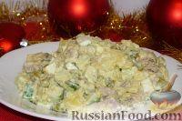 Фото к рецепту: Советская Новогодняя классика: Оливье