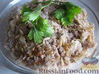 Фото к рецепту: Начинка для пирогов с мясом и капустой