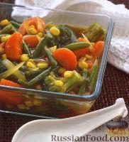 Фото к рецепту: Овощи, приготовленные по-китайски