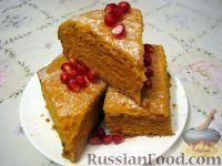 Фото к рецепту: Морковный пирог вегетарианский