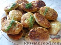 Фото к рецепту: Картофельники по-московски