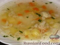 Фото к рецепту: Супчик из цветной капусты
