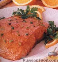 Фото к рецепту: Лосось, приготовленный на гриле