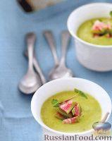 Фото к рецепту: Быстрый суп-пюре из авокадо