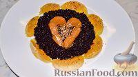 Фото к рецепту: Черный рис с фруктами