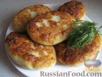 Фото к рецепту: Картофельные котлеты с ливером