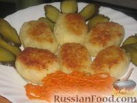 Фото к рецепту: Котлеты картофельные