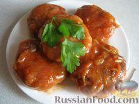 Фото к рецепту: Котлеты рыбные в духовке