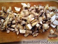 Фото приготовления рецепта: Каша пшенная с грибами - шаг №4