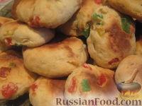 Фото к рецепту: Печенье с цукатами из творожного теста