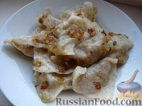 Фото к рецепту: Вареники с картошкой