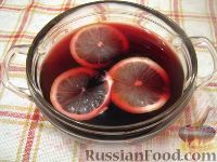 Фото к рецепту: Пунш «Красное вино»