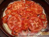 Фото приготовления рецепта: Пицца из теста на кефире - шаг №14