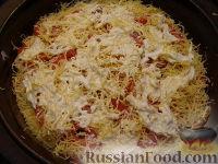 Фото приготовления рецепта: Пицца из теста на кефире - шаг №16