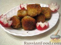 Фото к рецепту: Крокеты картофельные