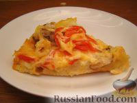 Фото приготовления рецепта: Пицца из теста на кефире - шаг №18