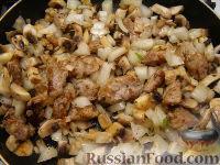 Фото приготовления рецепта: Жаркое в горшочке с грибами - шаг №7
