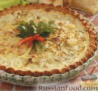 Фото к рецепту: Луковый пирог