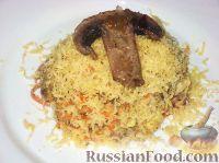 Фото к рецепту: Печеночный салат с грибами