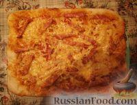 Фото к рецепту: Пицца домашняя (очень простая)
