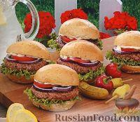Фото к рецепту: Бургеры с ароматными травами