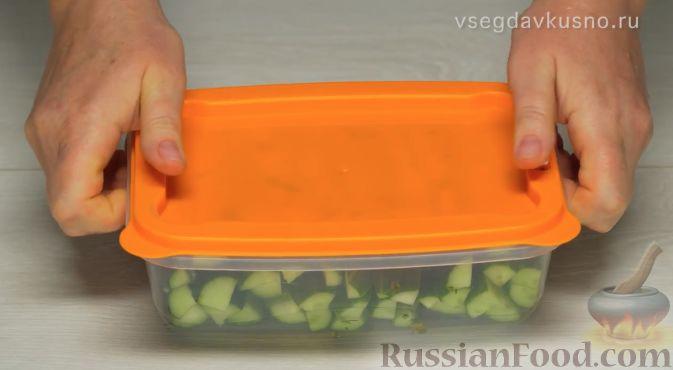 Фото приготовления рецепта: Жареная картошка с говяжьей печенью - шаг №16