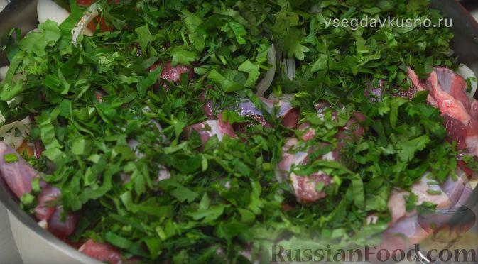 Фото приготовления рецепта: Хашлама - шаг №9