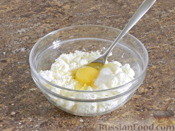 Фото приготовления рецепта: Яблочный тарт с заварным кремом и ореховой корочкой - шаг №18