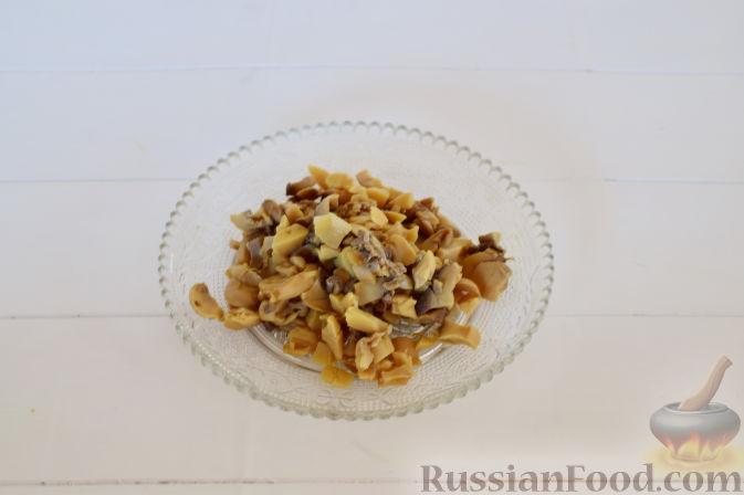 Фото приготовления рецепта: Винегрет с авокадо - шаг №7