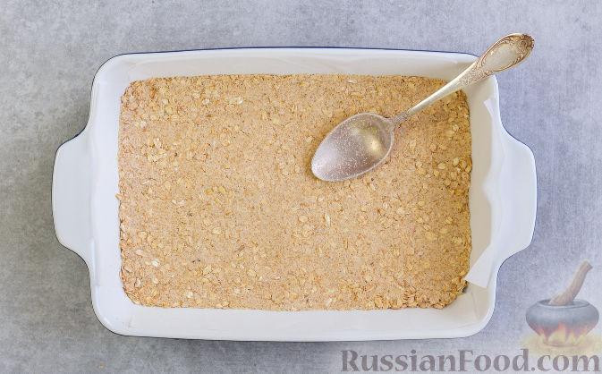 Фото приготовления рецепта: Овсяное печенье с малиной - шаг №6