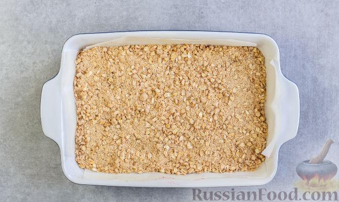 Фото приготовления рецепта: Овсяное печенье с малиной - шаг №10