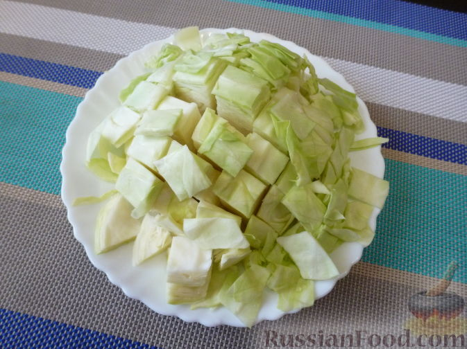 Фото приготовления рецепта: Овощной салат по-корейски - шаг №2