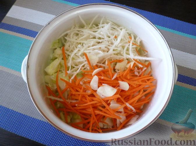 Фото приготовления рецепта: Овощной салат по-корейски - шаг №7