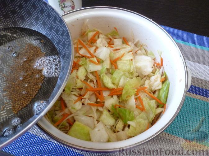 Фото приготовления рецепта: Овощной салат по-корейски - шаг №11