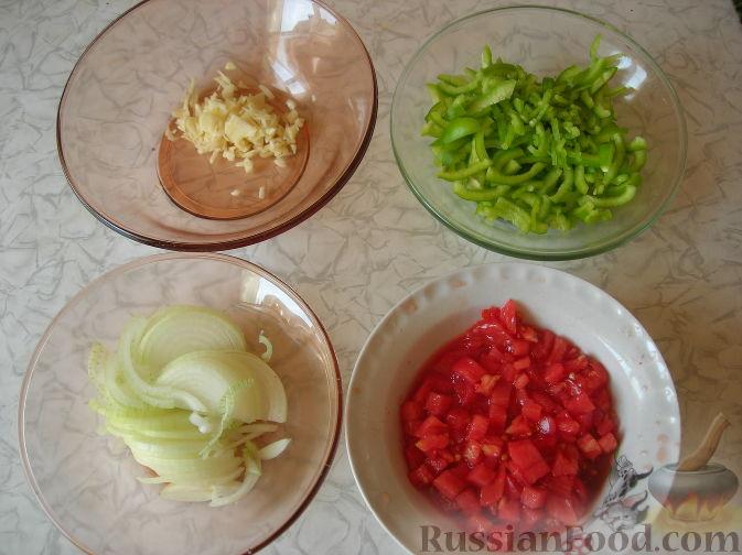 Фото приготовления рецепта: Кадича (баклажаны по-корейски) - шаг №4
