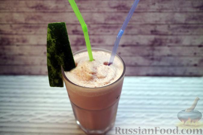 Фото приготовления рецепта: Морковный киш c творогом и зеленью - шаг №12