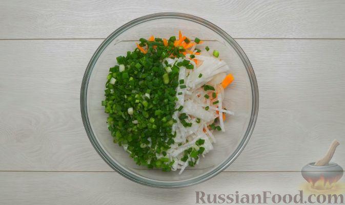 Фото приготовления рецепта: Кимчи из зелёного острого перца - шаг №7