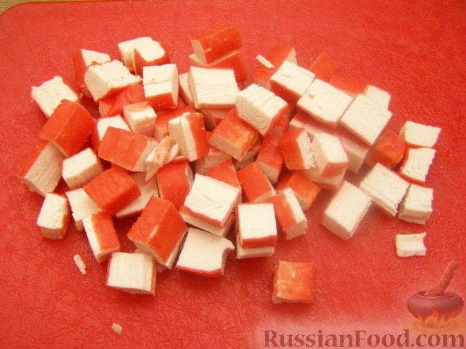 салат марсель рецепт с крабовыми палочками и