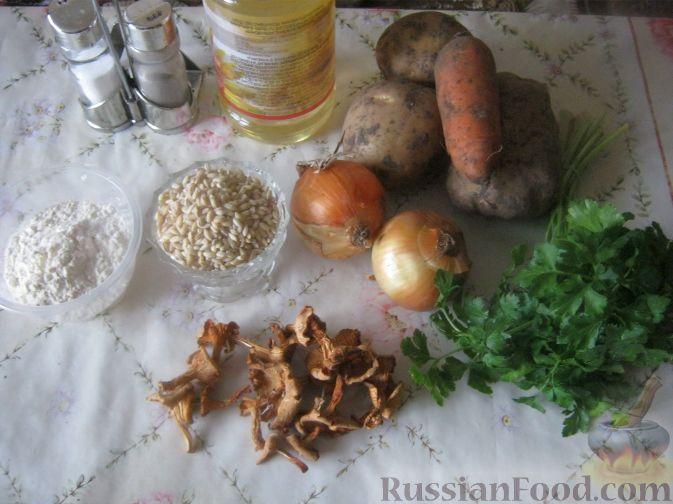 суп с грибами сушеными фото и рецептами