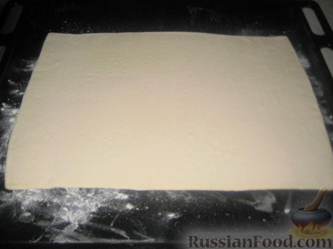 рецепт наполеон из слоеного теста фото