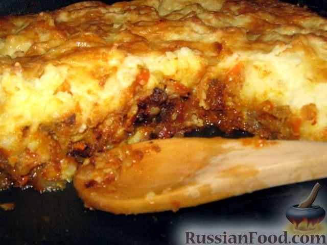 Рецепт А-ля Пастуший пирог