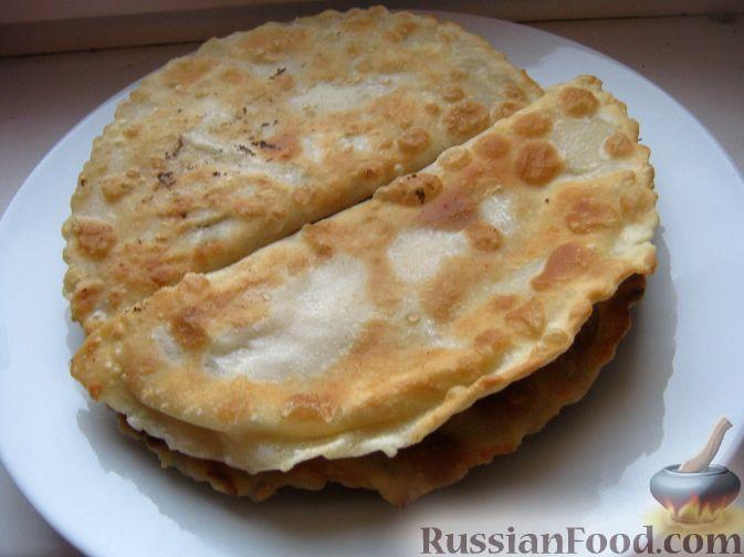 Рецепт Тесто для чебуреков