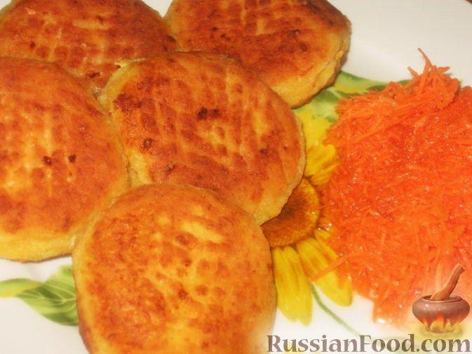 Рецепт Творожники с морковью