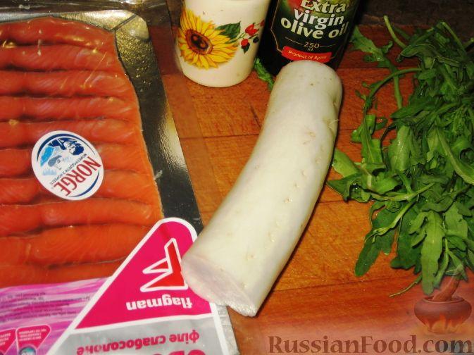 салат из семги рецепт фото рецепт пошаговый