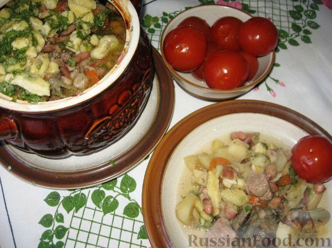 Рецепт Украинская печеня в горшочке