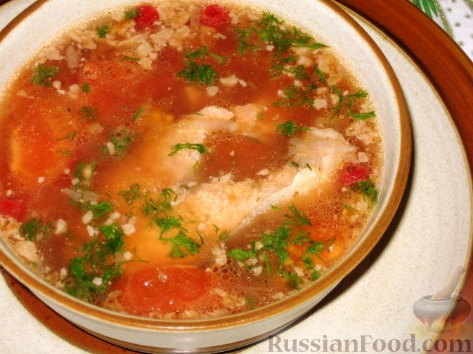 суп рыбный - необычный
